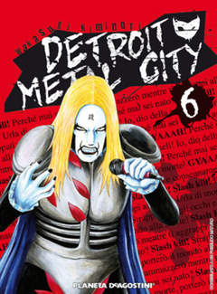 Copertina DETROIT METAL CITY n.6 - DETROIT METAL CITY, PLANETA-DE AGOSTINI