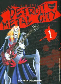 Copertina DETROIT METAL CITY n.1 - DETROIT METAL CITY           1, PLANETA-DE AGOSTINI