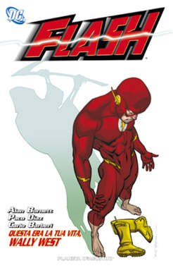 Copertina FLASH n.3 - QUESTA ERA LA TUA VITA, WALLY WEST, PLANETA-DE AGOSTINI
