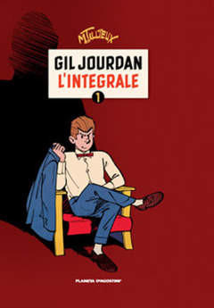 Copertina GIL JOURDAN (m4) n.1 - L'INTEGRALE - 1956/1960, PLANETA-DE AGOSTINI