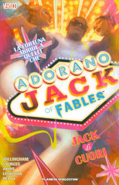 Copertina JACK OF FABLES (m9) n.2 - JACK DI CUORI, PLANETA-DE AGOSTINI