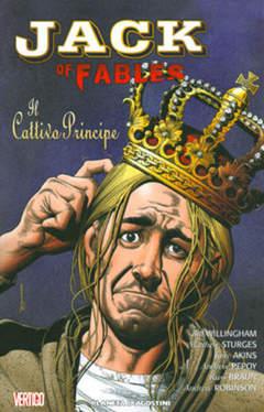 Copertina JACK OF FABLES (m9) n.3 - IL CATTIVO PRINCIPE, PLANETA-DE AGOSTINI