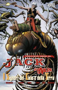 Copertina JACK OF FABLES (m9) n.8 - I SIGNORI DEL CIELO E DELLA TERRA, PLANETA-DE AGOSTINI
