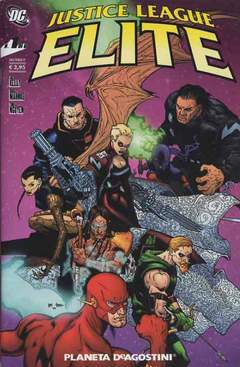 Copertina JUSTICE LEAGUE ELITE (m6) n.1 - JUSTICE LEAGUE ELITE, PLANETA-DE AGOSTINI