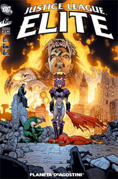 Copertina JUSTICE LEAGUE ELITE (m6) n.6 - JUSTICE LEAGUE ELITE, PLANETA-DE AGOSTINI