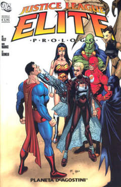 Copertina JUSTICE LEAGUE ELITE PREMESSA n. - JUSTICE LEAGUE ELITE PREMESSA, PLANETA-DE AGOSTINI