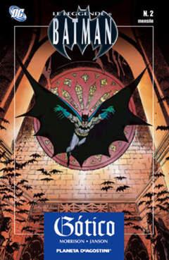 Copertina LEGGENDE DI BATMAN TP n.2 - GOTHIC, PLANETA-DE AGOSTINI