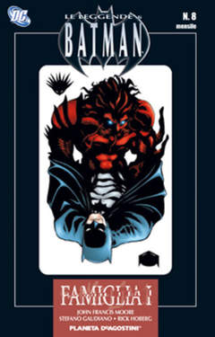 Copertina LEGGENDE DI BATMAN TP n.8 - LA FAMIGLIA DI BATMAN, PLANETA-DE AGOSTINI