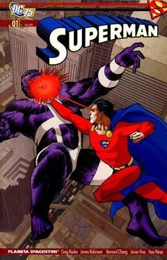Copertina MONDO CONTRO SUPERMAN n.1 - UN MONDO CONTRO SUPERMAN, PLANETA-DE AGOSTINI