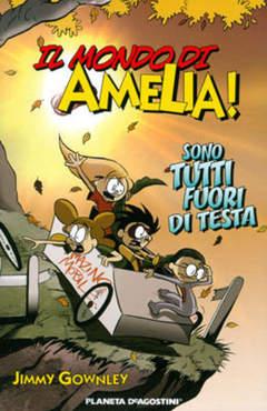 Copertina MONDO DI AMELIA n.1 - MONDO DI AMELIA              1, PLANETA-DE AGOSTINI