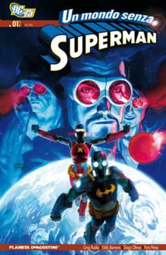 Copertina MONDO SENZA SUPERMAN (m2) n.1 - UN MONDO SENZA SUPERMAN , PLANETA-DE AGOSTINI