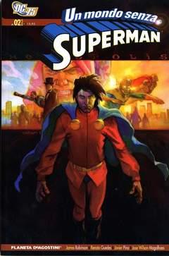 Copertina MONDO SENZA SUPERMAN (m2) n.2 - UN MONDO SENZA SUPERMAN, PLANETA-DE AGOSTINI