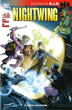 Copertina NIGHTWING nuova serie n.5 - BATMAN R.I.P., PLANETA-DE AGOSTINI