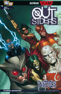 Copertina OUTSIDERS TP n.1 - OUTSIDERS TP, PLANETA-DE AGOSTINI