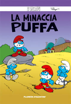 Copertina PUFFI (m26) n.21 - LA MINACCIA PUFFA, PLANETA-DE AGOSTINI