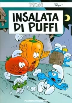 Copertina PUFFI (m26) n.25 - INSALATA DI PUFFI, PLANETA-DE AGOSTINI