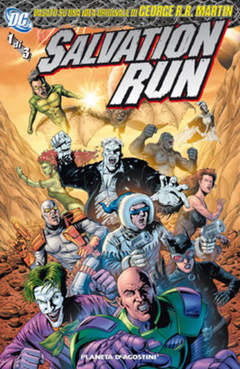 Copertina SALVATION RUN (m3) n.1 - SALVATION RUN, PLANETA-DE AGOSTINI