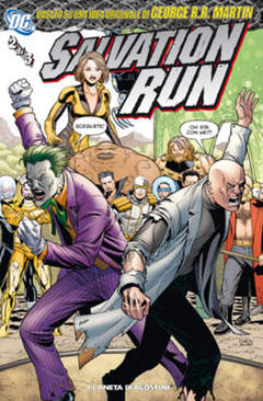Copertina SALVATION RUN (m3) n.2 - SALVATION RUN                2, PLANETA-DE AGOSTINI