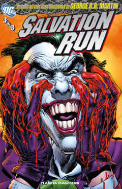 Copertina SALVATION RUN (m3) n.3 - SALVATION RUN, PLANETA-DE AGOSTINI