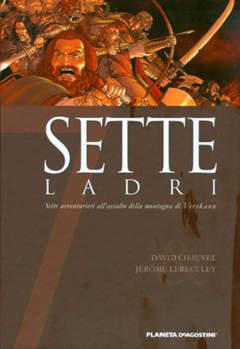 Copertina SETTE n.2 - SETTE LADRI, PLANETA-DE AGOSTINI