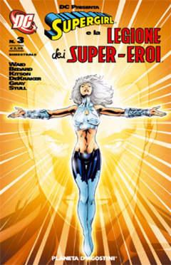 Copertina SUPERGIRL LEG.S.E. DC PRESENTA n.3 - DC PRESENTA SUPERGIRL E LEGIONE DEI SUPEREROI 3, PLANETA-DE AGOSTINI