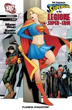 Copertina SUPERGIRL LEG.S.E. DC PRESENTA n.1 - SUPERGIRL E LEGIONE DEI SUPEREROI 1, PLANETA-DE AGOSTINI