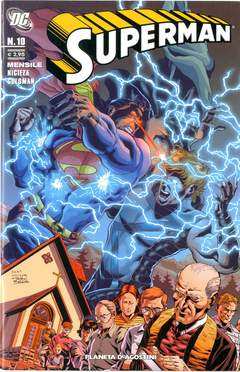 Copertina SUPERMAN 2007 n.10 - SERIE REGOLARE, PLANETA-DE AGOSTINI