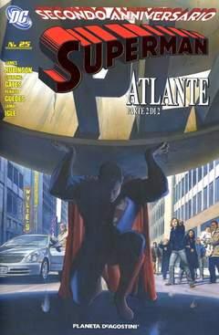 Copertina SUPERMAN 2007 #25 n. - COVER IN RILIEVO, PLANETA-DE AGOSTINI