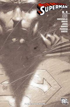 Copertina SUPERMAN 2007 n.4 - SUPERMAN 2007, PLANETA-DE AGOSTINI