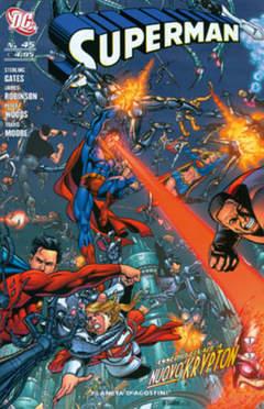 Copertina SUPERMAN 2007 n.45 - SUPERMAN, PLANETA-DE AGOSTINI