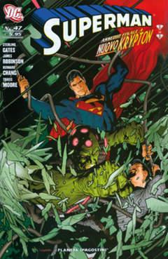 Copertina SUPERMAN 2007 n.47 - SUPERMAN, PLANETA-DE AGOSTINI