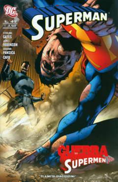 Copertina SUPERMAN 2007 n.49 - SUPERMAN, PLANETA-DE AGOSTINI