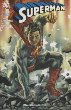 Copertina SUPERMAN 2007 n.52 - SUPERMAN, PLANETA-DE AGOSTINI