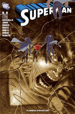 Copertina SUPERMAN 2007 n.9 - SUPERMAN 2007, PLANETA-DE AGOSTINI
