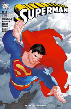 Copertina SUPERMAN 2007 n.8 - SUPERMAN 2008 N.8, PLANETA-DE AGOSTINI