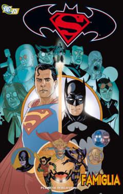 Copertina SUPERMAN/BATMAN FAMIGLIA n. - SUPERMAN/BATMAN - FAMIGLIA, PLANETA-DE AGOSTINI
