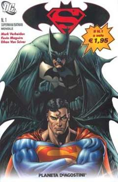 Copertina SUPERMAN BATMAN II SERIE n.1 - SUPERMAN BATMAN II SERIE, PLANETA-DE AGOSTINI
