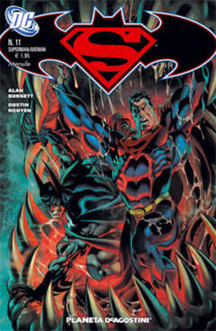 Copertina SUPERMAN BATMAN II SERIE n.11 - SUPERMAN BATMAN II SERIE    11, PLANETA-DE AGOSTINI