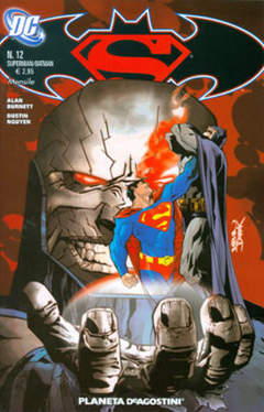 Copertina SUPERMAN BATMAN II SERIE n.12 - SUPERMAN BATMAN II SERIE    12, PLANETA-DE AGOSTINI