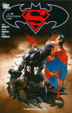 Copertina SUPERMAN BATMAN II SERIE n.15 - SUPERMAN BATMAN II SERIE    15, PLANETA-DE AGOSTINI