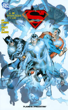 Copertina SUPERMAN BATMAN II SERIE n.16 - SUPERMAN BATMAN II SERIE    16, PLANETA-DE AGOSTINI