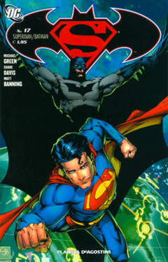 Copertina SUPERMAN BATMAN II SERIE n.17 - SUPERMAN/BATMAN, PLANETA-DE AGOSTINI