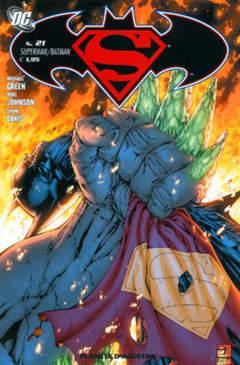 Copertina SUPERMAN BATMAN II SERIE n.21 - SUPERMAN/BATMAN, PLANETA-DE AGOSTINI