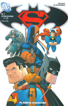Copertina SUPERMAN BATMAN II SERIE n.7 - , PLANETA-DE AGOSTINI