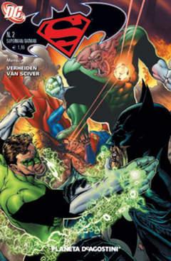 Copertina SUPERMAN BATMAN II SERIE n.2 - SUPERMAN BATMAN II SERIE 2, PLANETA-DE AGOSTINI