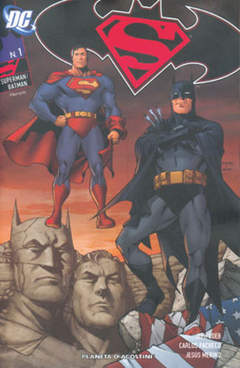 Copertina SUPERMAN BATMAN (m6) n.1 - SUPERMAN BATMAN, PLANETA-DE AGOSTINI