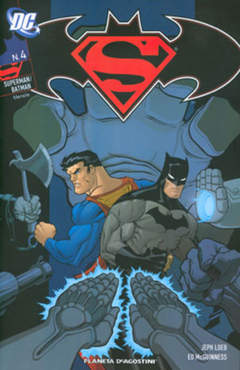 Copertina SUPERMAN BATMAN (m6) n.4 - SUPERMAN BATMAN, PLANETA-DE AGOSTINI