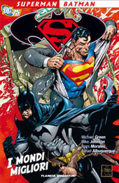 Copertina SUPERMAN BATMAN TP n.1 - I MONDI MIGLIORI, PLANETA-DE AGOSTINI