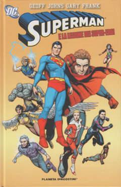 Copertina SUPERMAN DI GEOFF JOHNS (m3) n.2 - SUPERMAN E LA LEGIONE DEI SUPER EROI, PLANETA-DE AGOSTINI