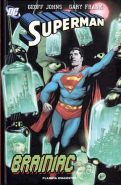 Copertina SUPERMAN DI GEOFF JOHNS (m3) n.3 - BRAINIAC, PLANETA-DE AGOSTINI